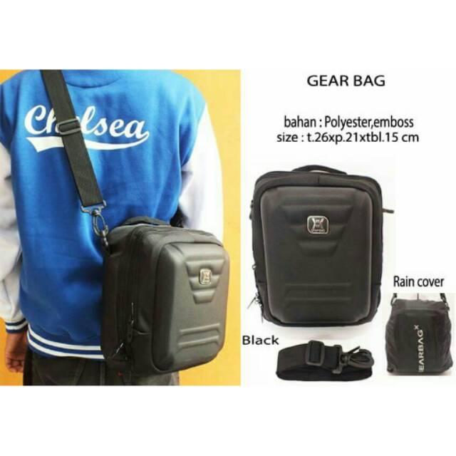 Bag & Stuff - [BUNDLE OREGON] BOUGGER EMBOSS LAPTOP BACKPACK + FREE 1 OREGON SHOULDER BAG | Shopee Indonesia