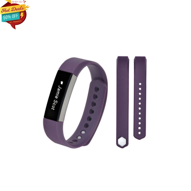 Replacement Silicone Wristband Wrist Band Strap Bracelet For Fitbit Alta HR HOT!