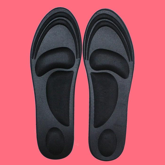 Silikon Shoes Pad Sol Bantalan Sepatu Peninggi 5 Insole Layer Tumit High Heels Insole Shoe Gel