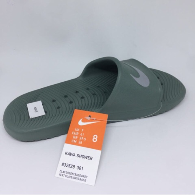 bf5a8a2d7867 Kicosport Sendal nike kawa shower clay green original new 2018