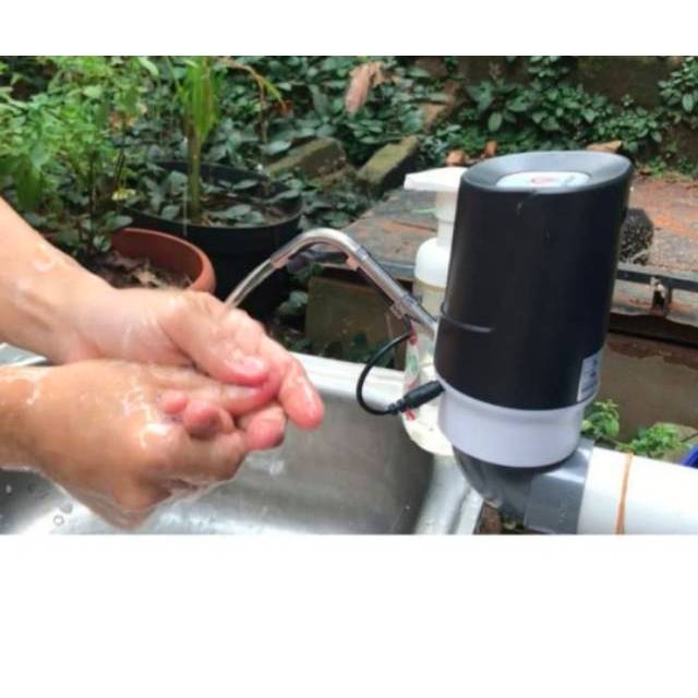 Dispenser Sensor Otomatis Tanpa Pencet Pompa Galon Elektrik Dispenser Air Elektrik Shopee Indonesia
