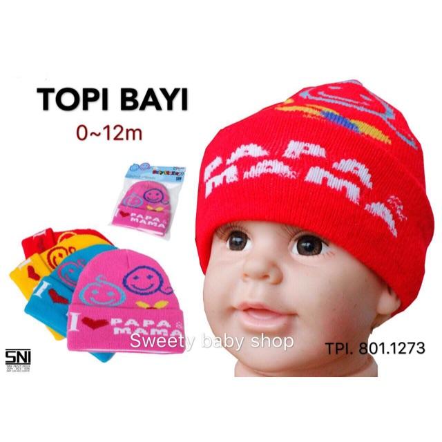 Topi Kupluk Bayi Perempuan Lucu   Topi Anak Kupluk Cewek Boneka Lucu ... 56d7226e35