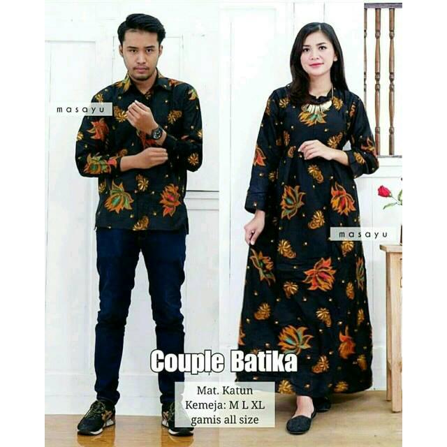 Sarimbit couple Batik .
