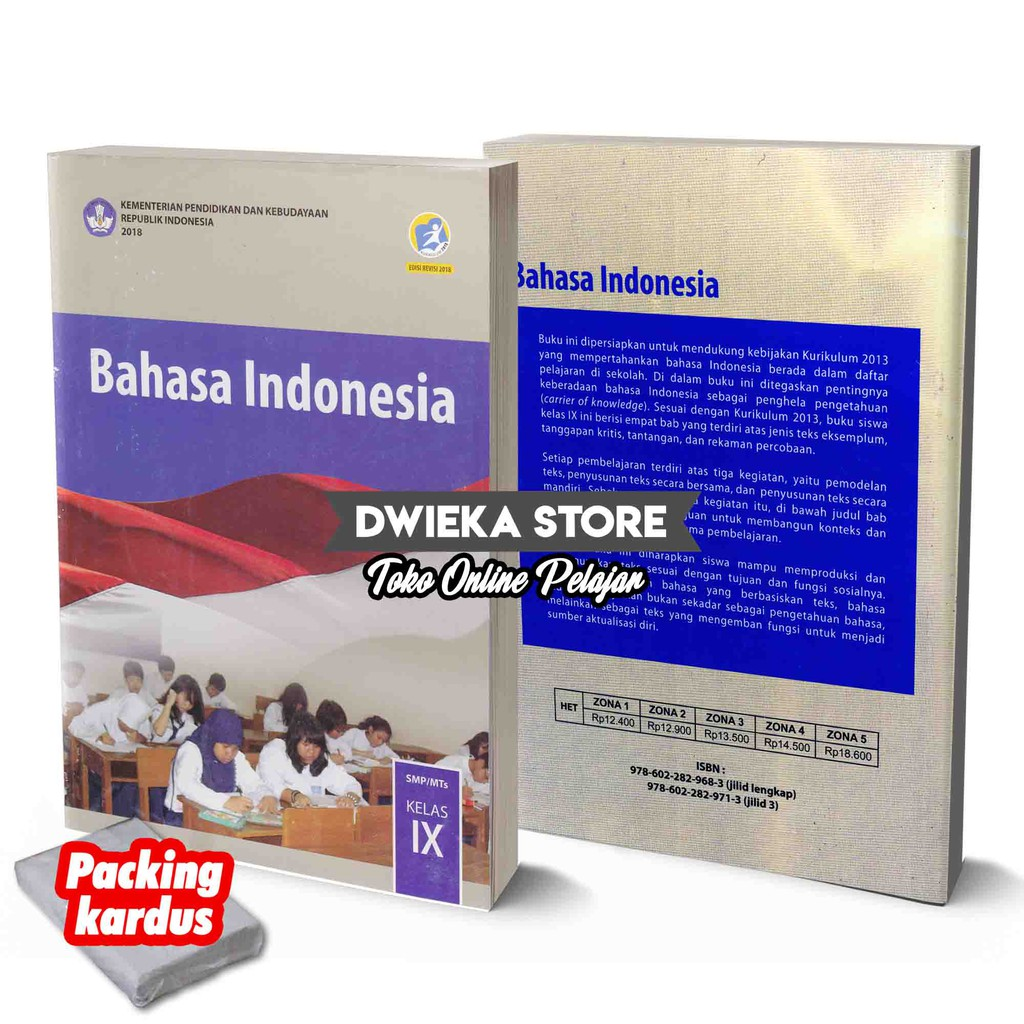 Buku Siswa Bahasa Indonesia Smp Kelas 9 Kurikulum 2013 Edisi Revisi 2018 Shopee Indonesia