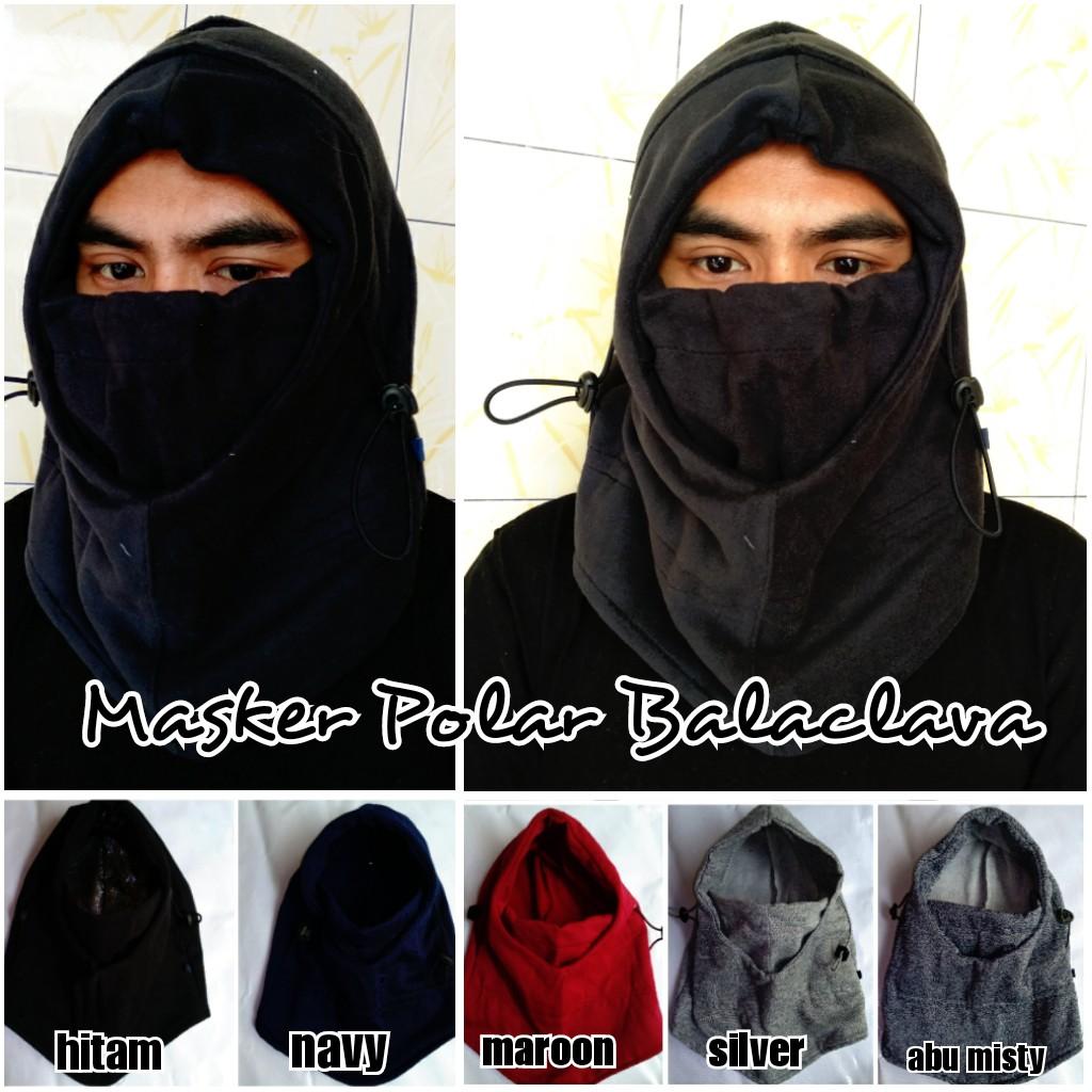 Masker Polar Balaclava Fleece 6 In 1 Multifungsi Shopee Indonesia Tactical Outdoor