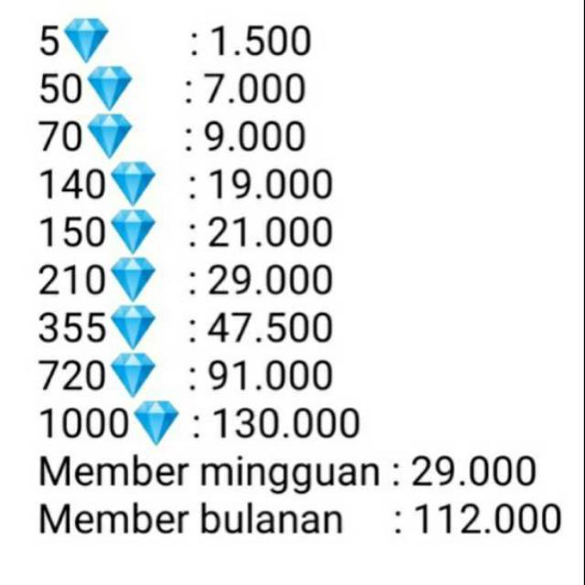 Top up diamond ff termurah
