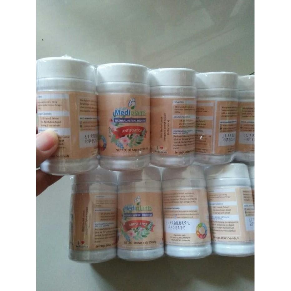 Mediplants Herbal Shopee Indonesia Kapsul Syaraf Kejepit