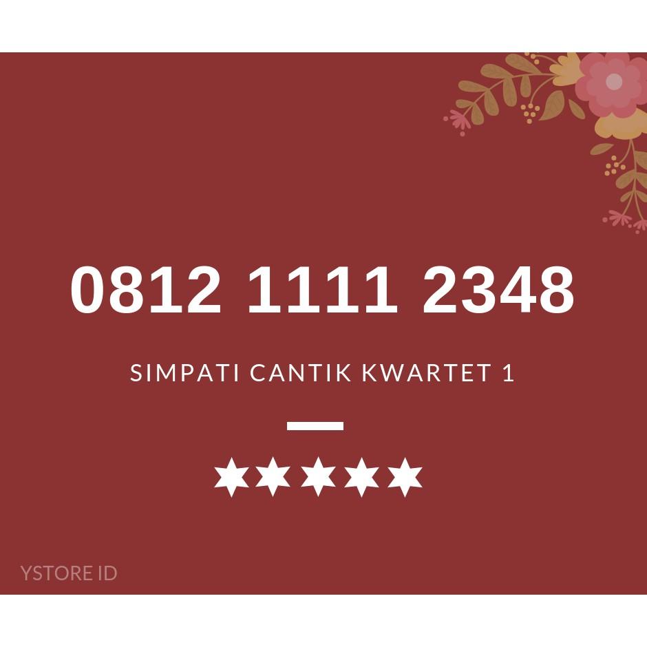 [ TERLARIS ] NOMOR CANTIK SIMPATI SERI 1234566 KARTU PERDANA TELKOMSEL 4G | Shopee Indonesia