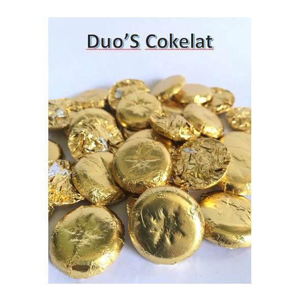 Coklat Gold Coin Full Mlik 1kg