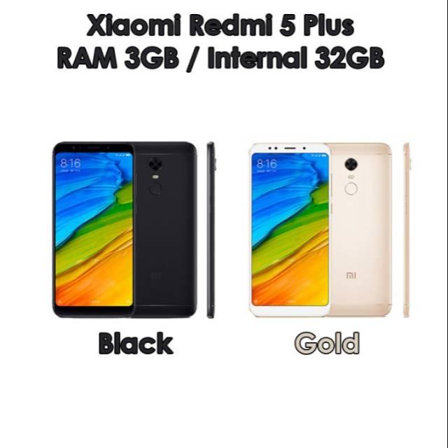 Xiomi Redmi 5 Plus RAM 3gb internal 32gb
