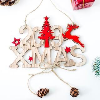 Christmas Alphabet.2019 New Year Christmas Alphabet Wooden Hollow Door Hanging Plate Hanging Decor