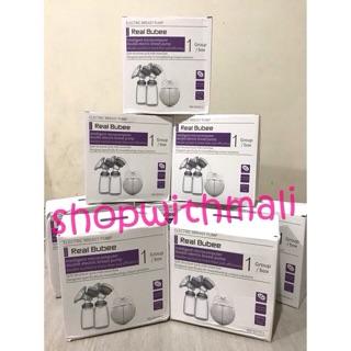 Harga preferensial ADA GARANSI READY SURABAYA Real Bubee Double Electric BreastPump Pompa Asi Elektrik GOSEND SURABAYA buy now - only 200.640Rp