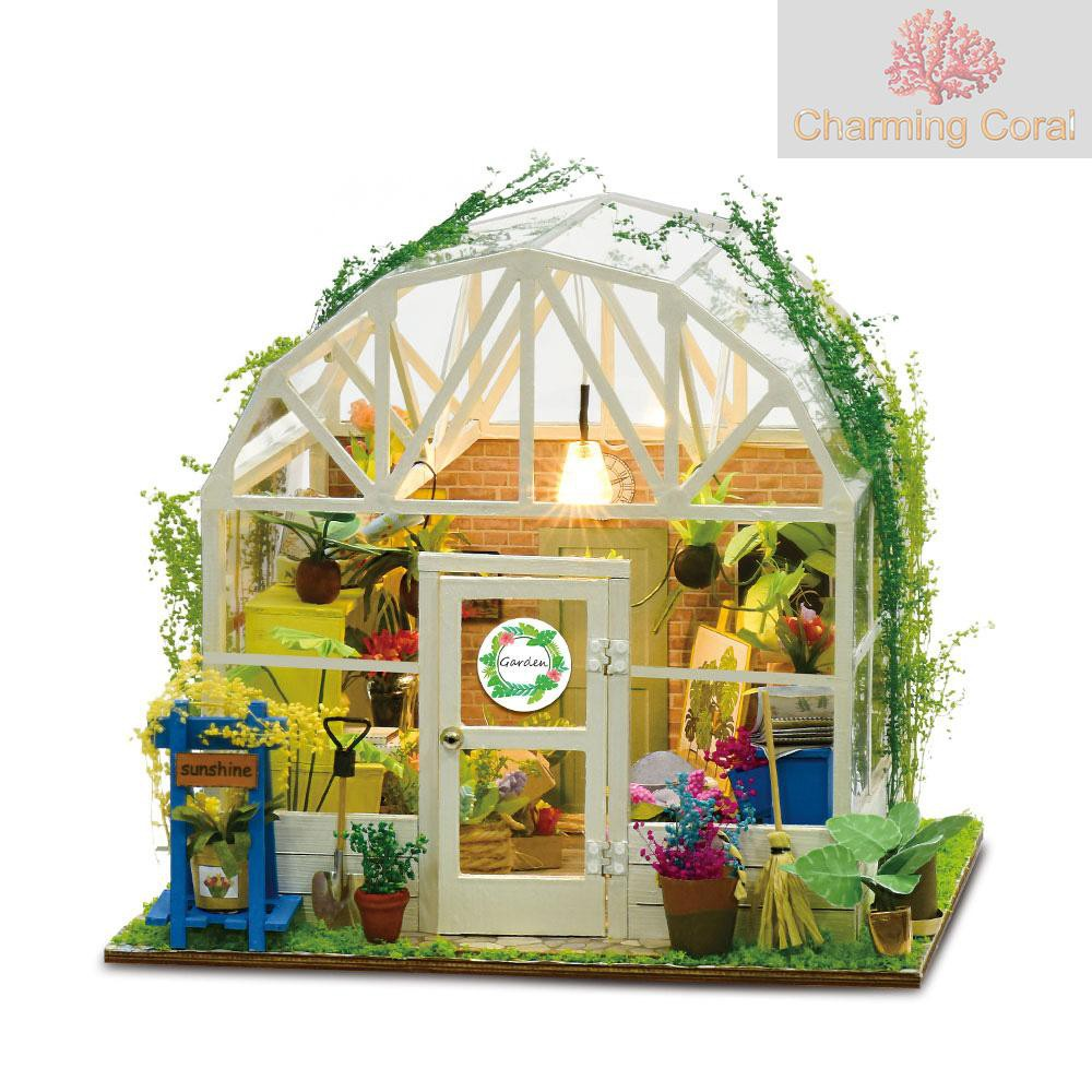 1//12 Trendy Handmade Craft Flower Bonsai Dollhouse Scenery Accessories Decor Wor