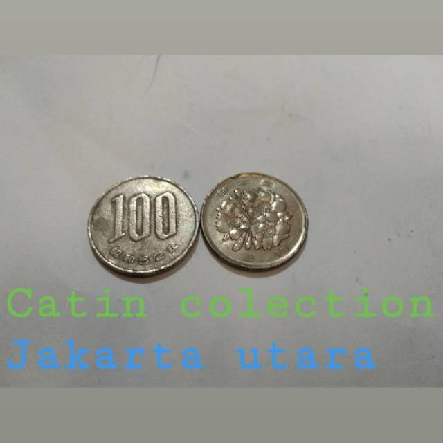 Gambar Uang Koin 100 China Sh 283 Uang Koin Antik 100 Yen Jepang Shopee Indonesia