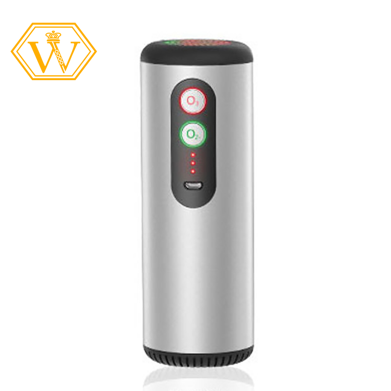 In Stock Mini Ozone Generator Deodorizer Air Purifier Usb Rechargeable Portable Air Space Clear Odor For Office Car Room Silver Shopee Indonesia