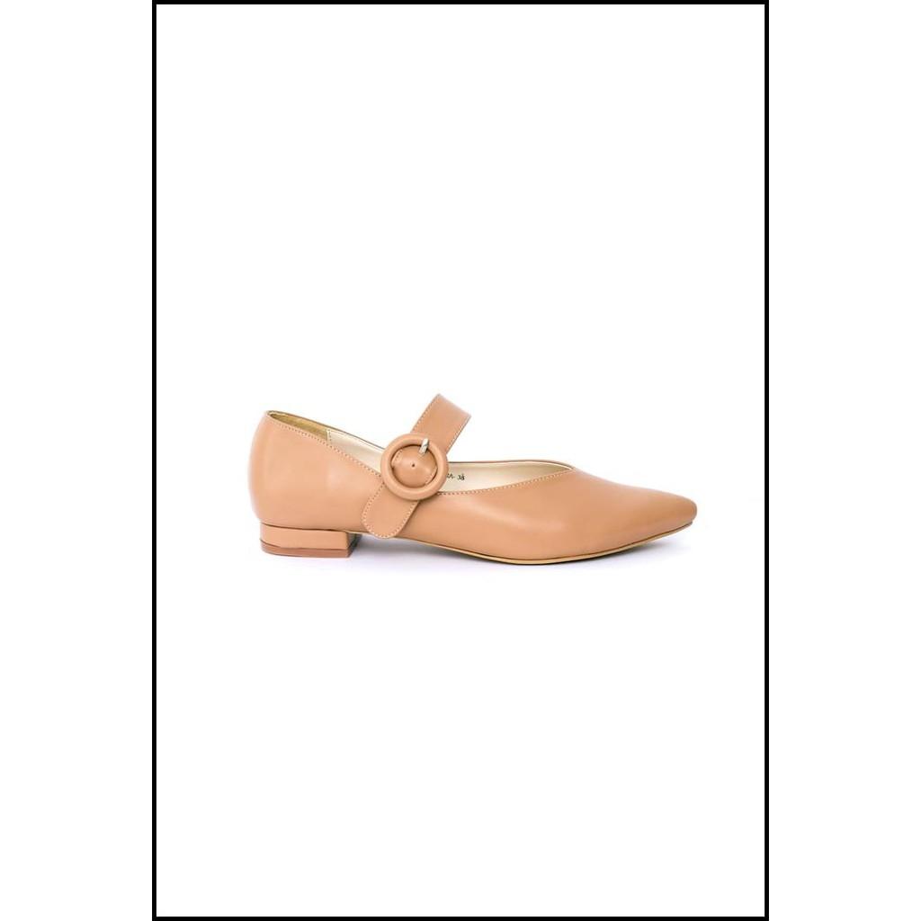 Amazara Jocelyn Hazelnut Flatshoes Cokelat Muda 36 Shopee Indonesia Rachel Nude Loafers Ivory 37