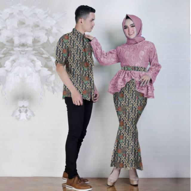 St CP Bella couple kebaya batik brukat mermaid duyung  f1649b6214