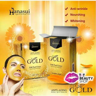 Hanasui Anti Aging Peel Of Mask Gold thumbnail