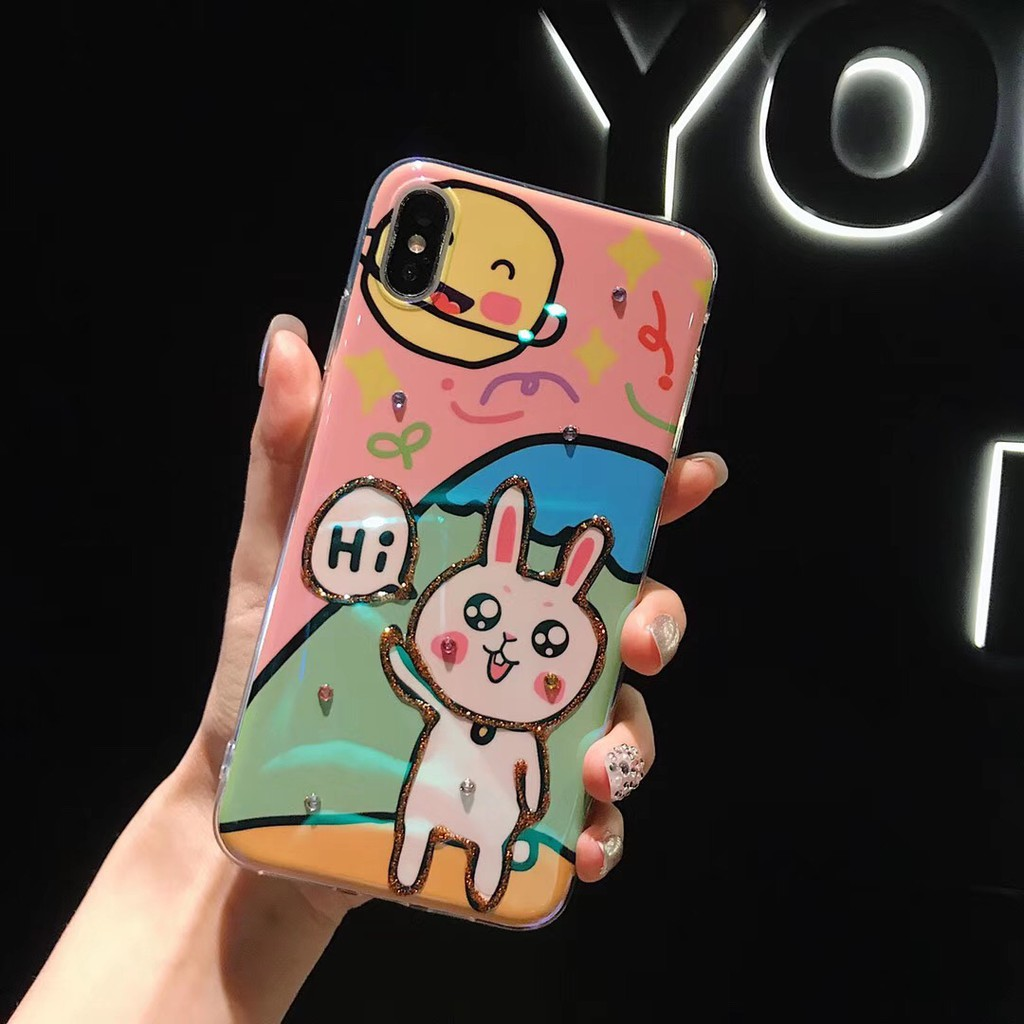 Iphone X XS MAX I7 I8 Plus soft case Star rabbit case For XR