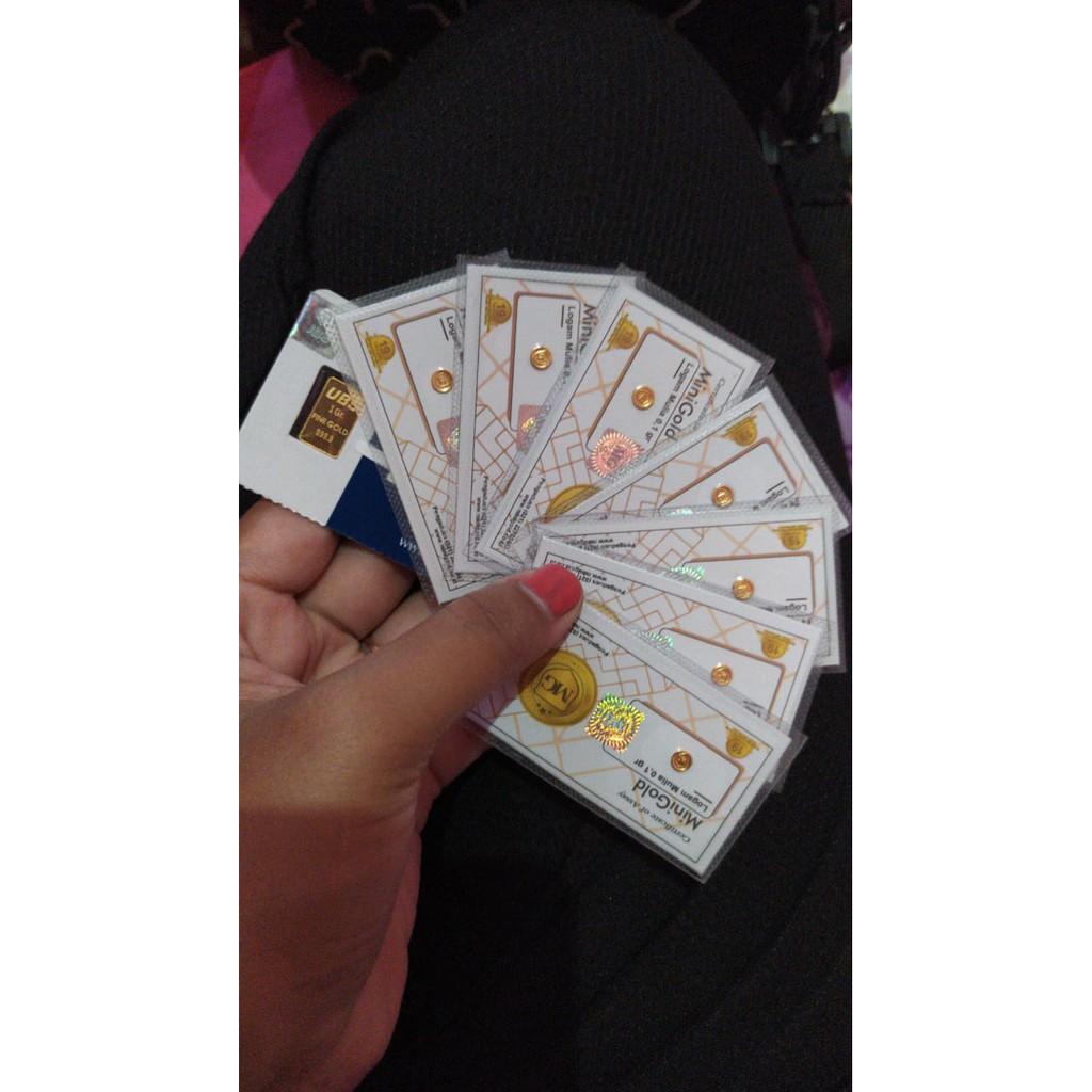 Mini Gold Koin Emas Murni 24 Karatlogam Mulia Shopee Indonesia