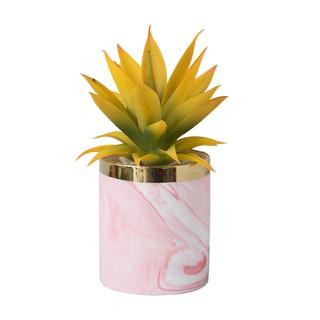nordic simulasi succulent pot ornamen, ins tanaman hijau