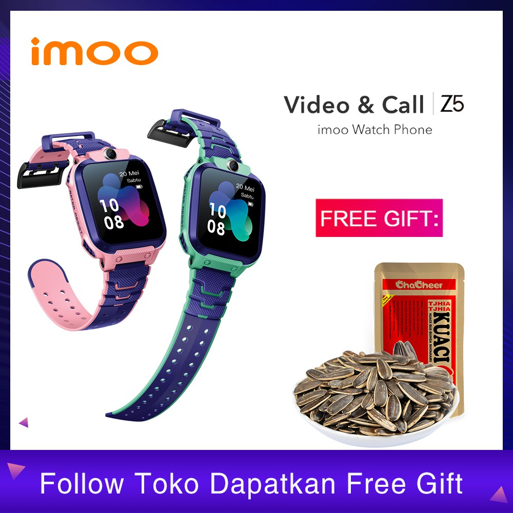 Imoo Z5 Watch Phone Jam Tangan Imo Smart Watch Garansi Resmi