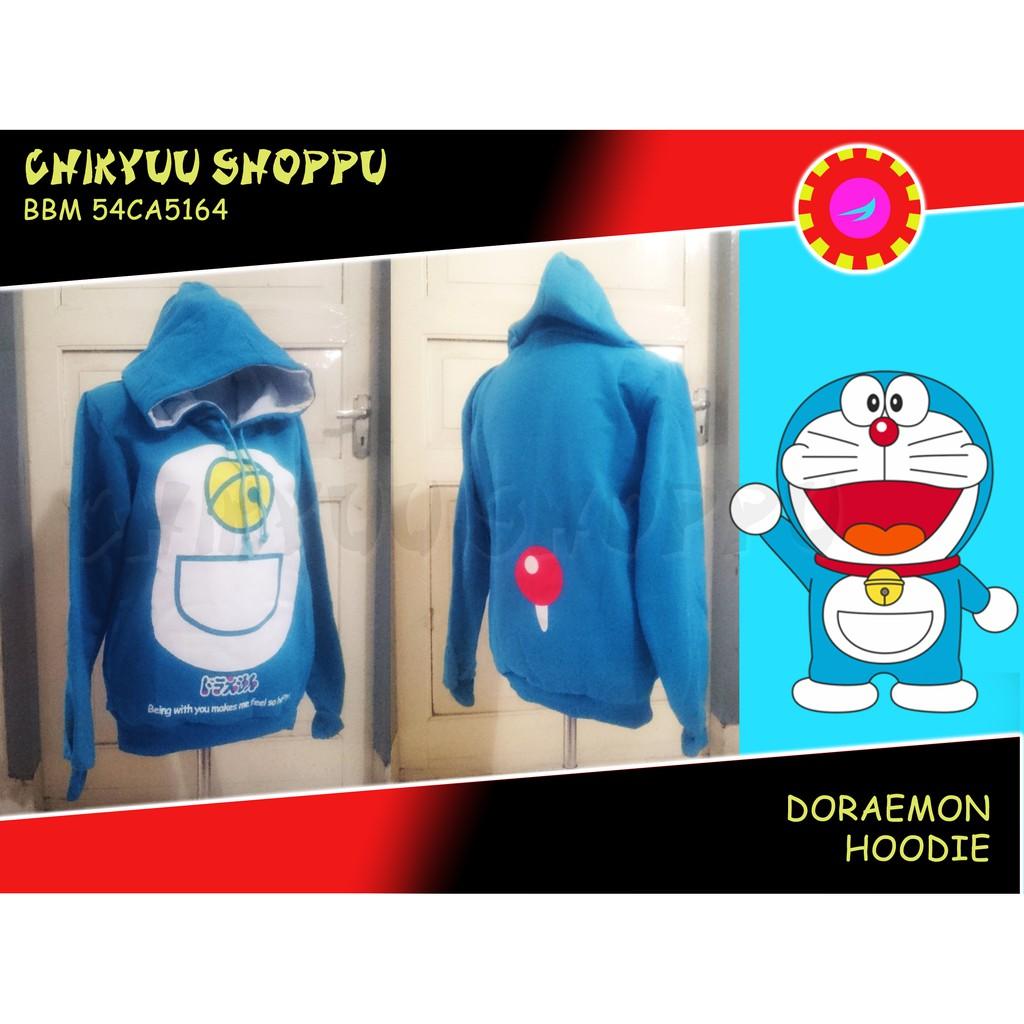 Doraemon Sweater jacket jaket Hoodie Anime Jepang Doraemon | Shopee Indonesia