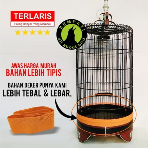 Murah Deker Dekker Aksesories Tambahan Pelindung Sangkar Burung Branjangan Berkualitas Shopee Indonesia