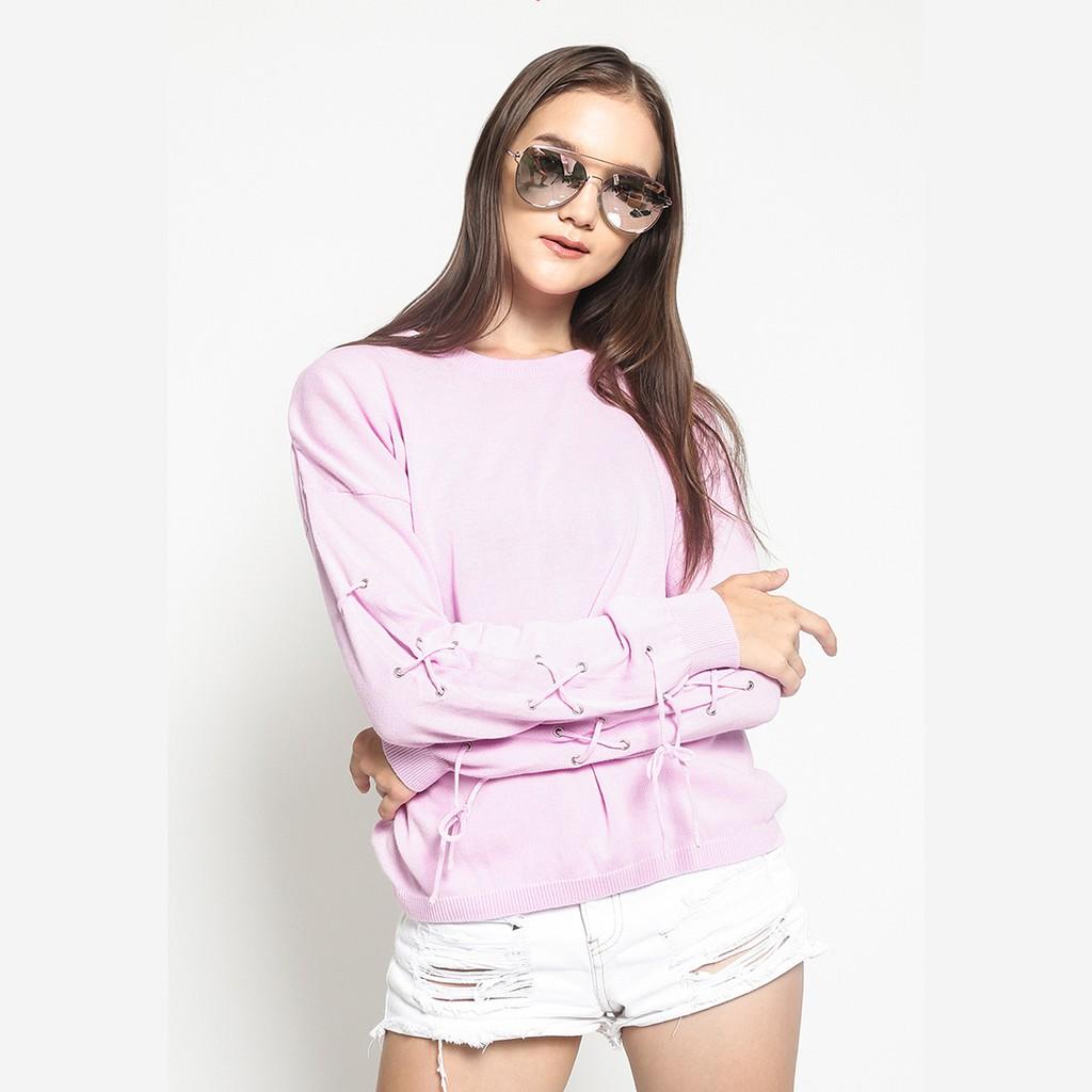 Fashion Duapola Daftar Harga November 2018 Dailydarling Orcha One Shoulder Blue Biru Muda M