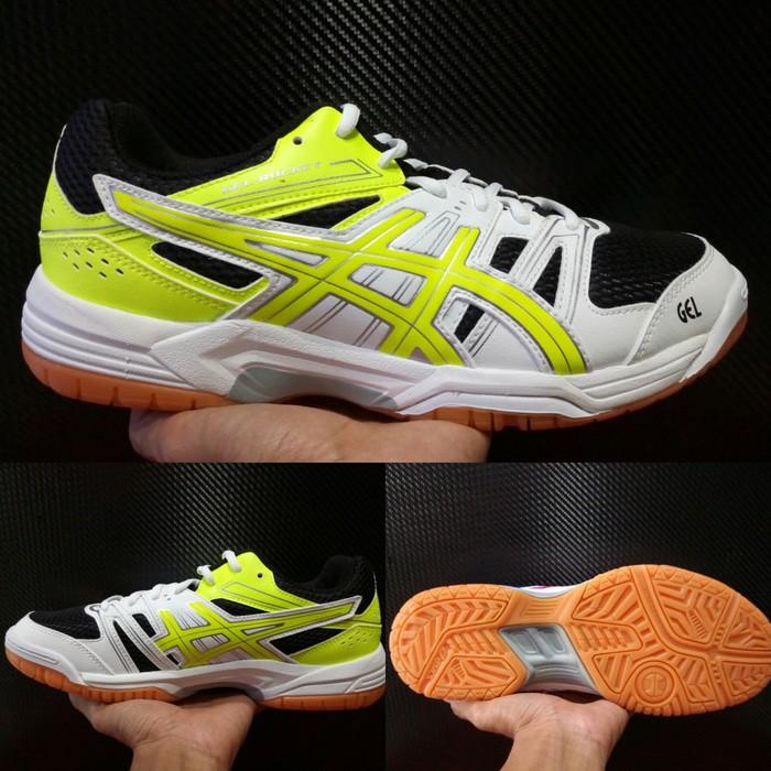 Sepatu Volley Pria Asics Gel Rocket Original  u002F Volly Voli Cowok Gym