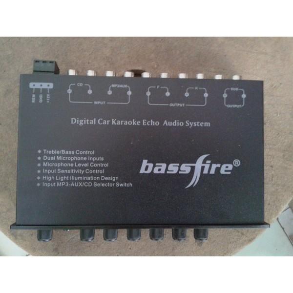 EQUALIZER/pre amp MOBIL BASSFIRE