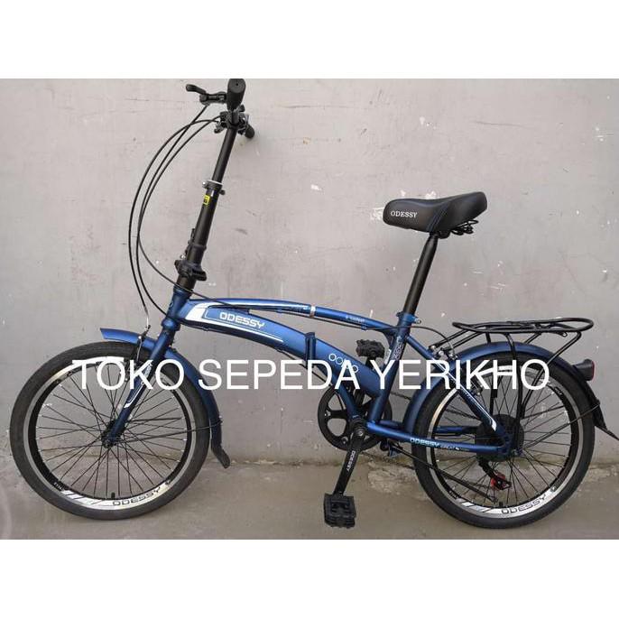 Sepeda lipat Evergreen 20 ...