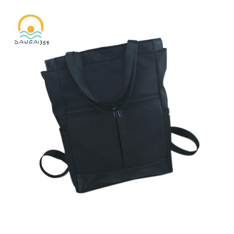 Vintage S Shoulder Backpack Women