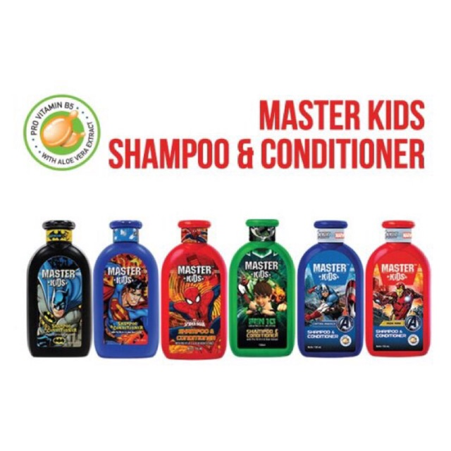 Master kids shampoo & conditioner 150 ml