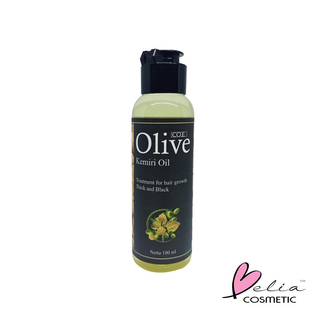 ❤ BELIA ❤ CO.E Olive Hair Treatment | Shampoo | Conditioner | Tonic | Shampo SYB (✔BPOM)-OLIVE Kemiri Oil