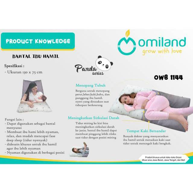 Maternity Pillow Omiland Bantal Ibu Hamil Omiland Shopee Indonesia