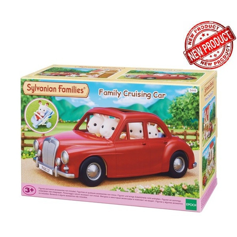 Sylvanian Families Family Cruising Car Mainan Koleksi Shopee Indonesia