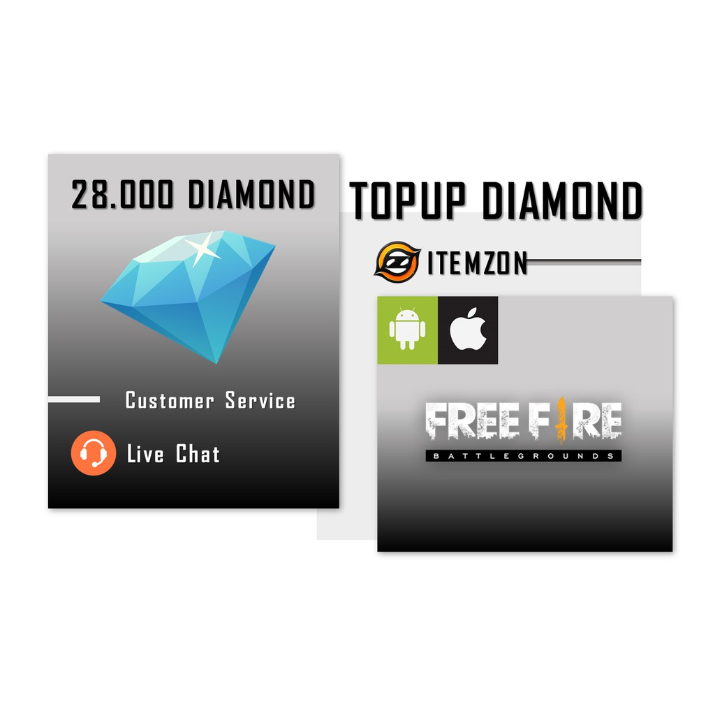 Diamond Free Fire Murah Dan Legal Shopee Indonesia