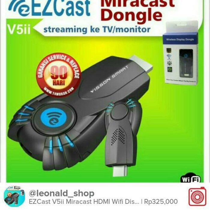 Miracast / Anycast / Mirror Hp Ke Tv / Hdmi Tv Stick - E69Cad | Shopee Indonesia