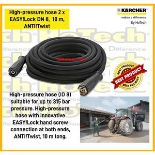 Karcher High Pressure Hose 10 M Id 8 315 Bar Extension Shopee Indonesia