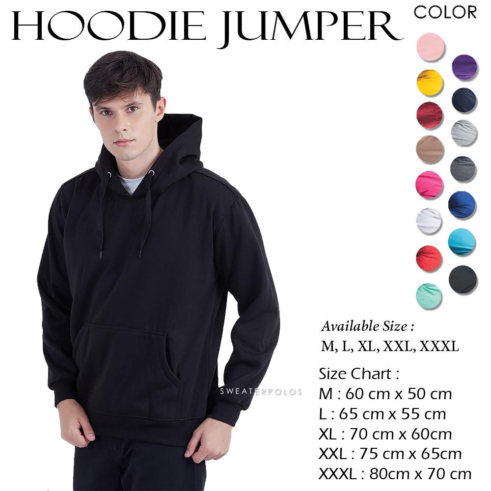 Jaket Hoodie Jumper Size Xl Pria Wanita Shopee Indonesia Roundhand Secker Sweater Sj0015