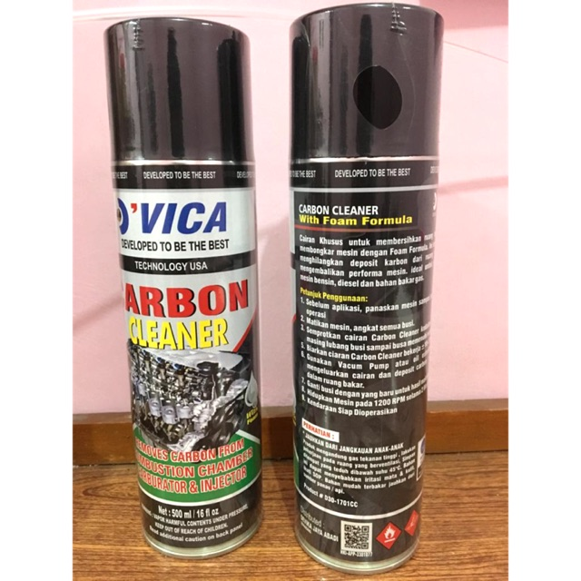 Carbon Cleaner Foam Busa Buih 500ml Shopee Indonesia