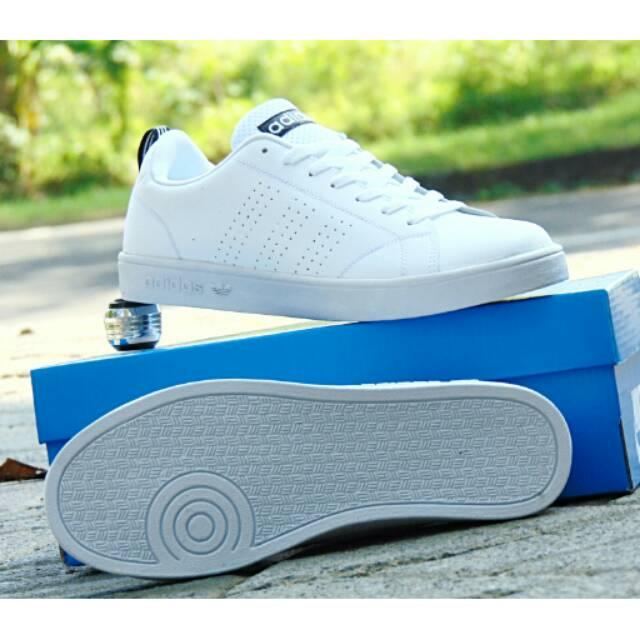 Sepatu Sneakers Adidas Neo Advantage Grade Ori Full Putih 02