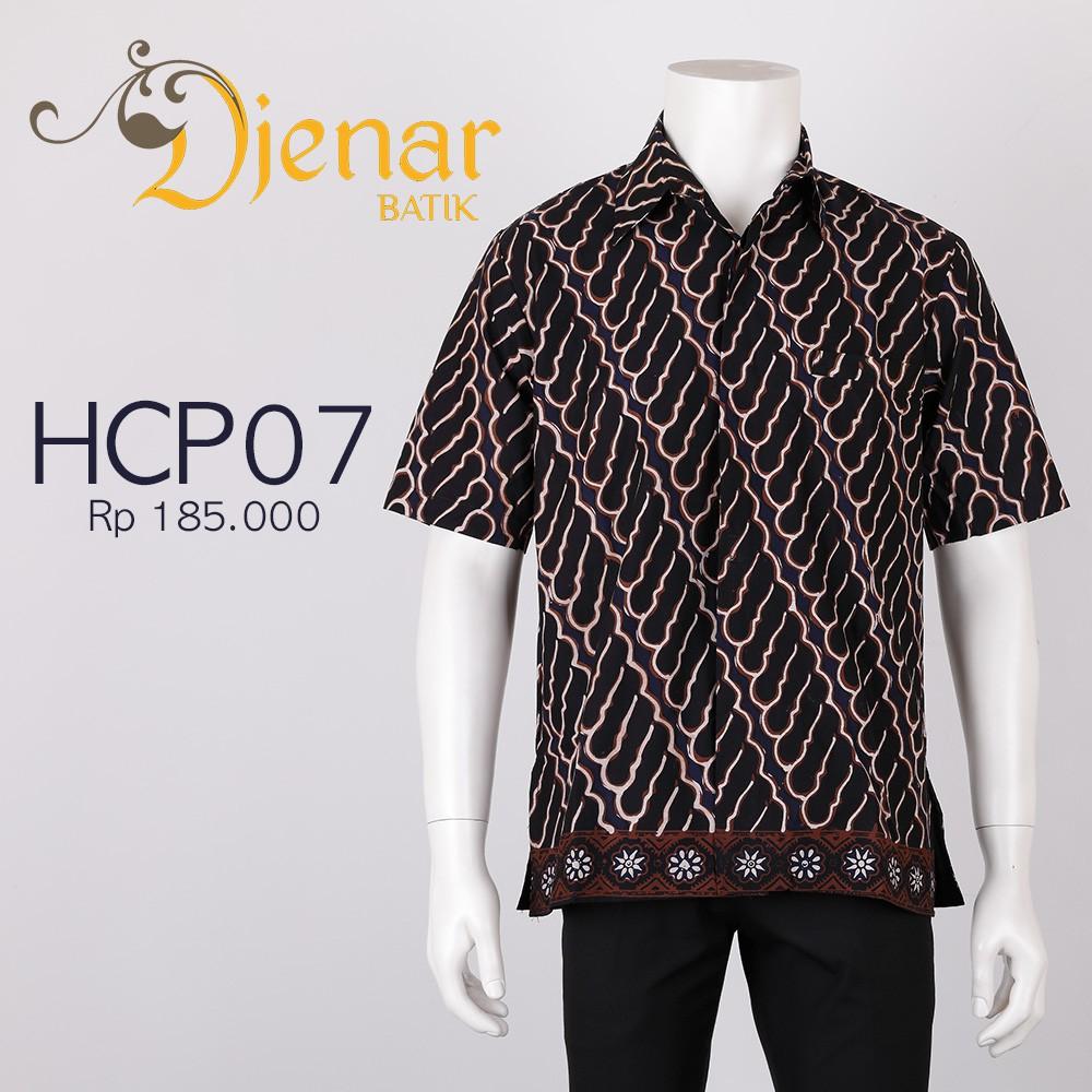 Kemeja Batik Colet Premium Djenar Kode Hcp10 Shopee Indonesia Slimfit Panjang B 185