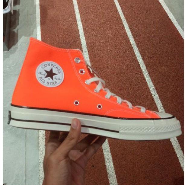 Converse 70'S Hi Orange 167700C Sepatu Casual Converse Original Sepatu Converse Converse 70'S High