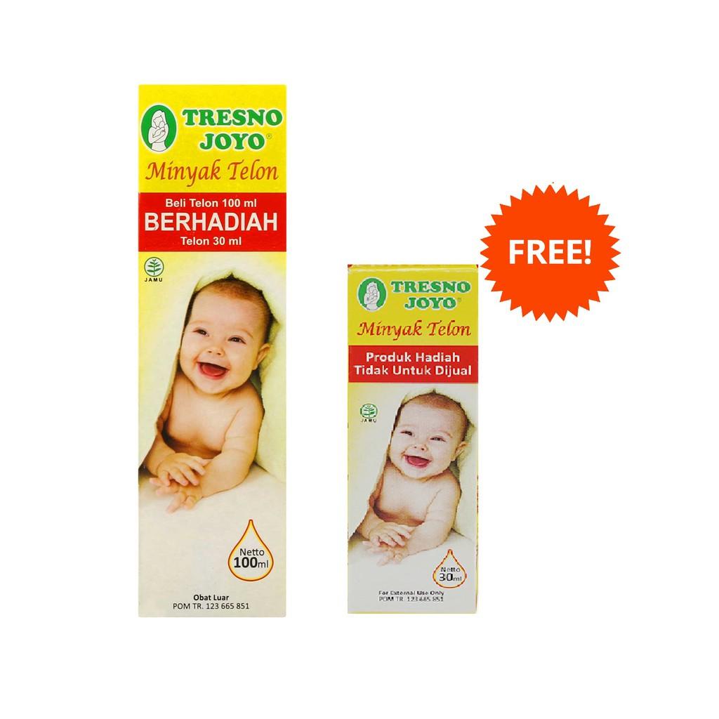Diskon Paket Minyak Telon Tresno Joyo 100ml 6 Pcs Free 30ml Mtk057 Plus Konicare 125 Ml 3 Mtk022 Shopee Indonesia