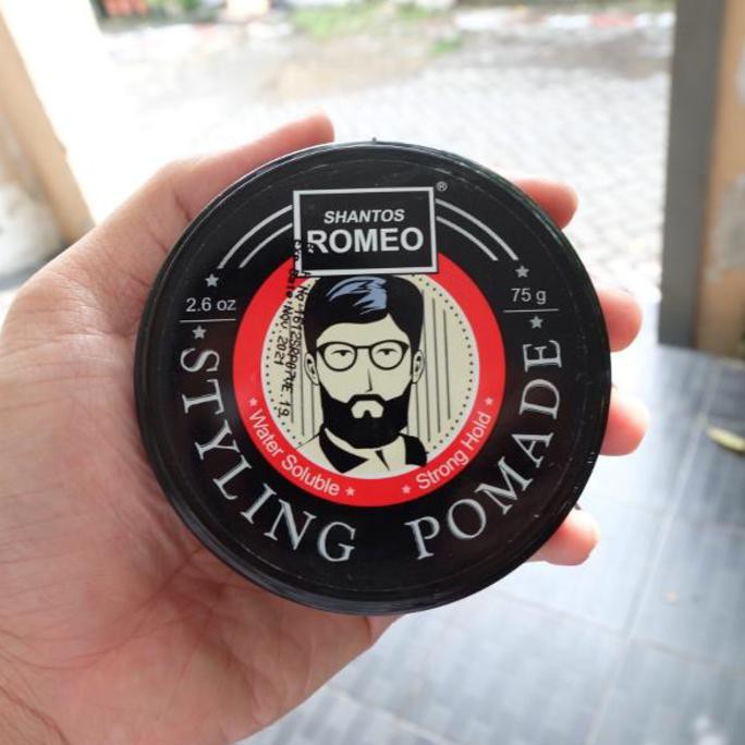 Promo SHANTOS ROMEO HAIR STYLING GEL BUKAN POMADE 100gr SUDAH BPOM Diskon  ed82a72480