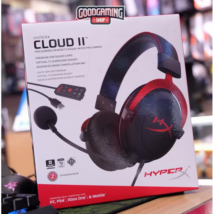 NEW Virtual 7.1 Surround Sound Works with PC//PS.. HyperX Amp USB Sound Card
