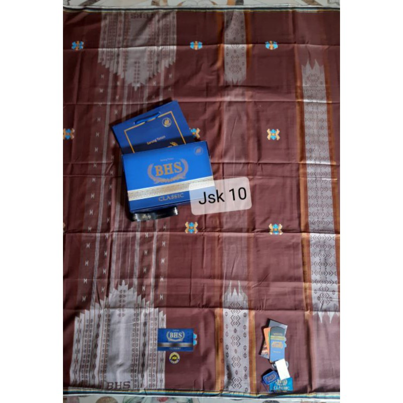 BHS Classic Jacquard Songket Gold