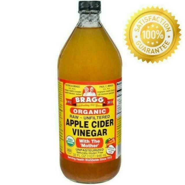 Cuka Apel Organik Original Cuka Bragg Cider Vinegar With The Mother 946ml Shopee Indonesia